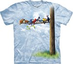 Vogels in Boom - The Mountain T-shirt