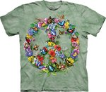 Vlinders Peace - The Mountain T-shirt