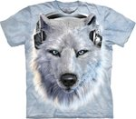 Witte Wolf DJ - The Mountain T-shirt