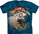 Vind 13 paarden - The Mountain T-shirt