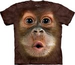 Orang-oetan Baby - The Mountain T-shirt
