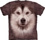 Alaska Malamute - The Mountain T-shirt