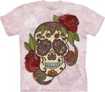 Paisly Sugar Skull - The Mountain T-shirt