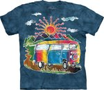 VW Bus - The Mountain T-shirt