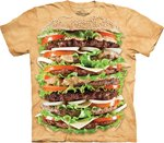 Hamburger - The Mountain T-shirt