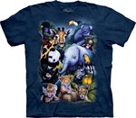 Dierentuin collage - The Mountain T-shirt Kids