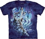 Vind 10 wolven - The Mountain T-shirt Kids