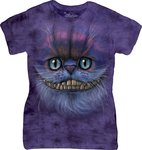 Cheshire Kat - The Mountain T-shirt Dames