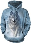 Wolf in Sneeuw - The Mountain Hoodie