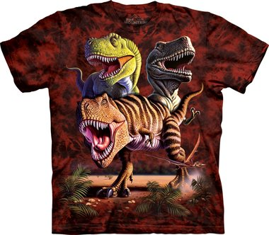 Rex Collage - The Mountain T-shirt