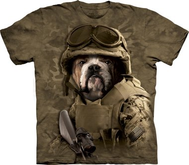 Combat Sam - The Mountain T-shirt