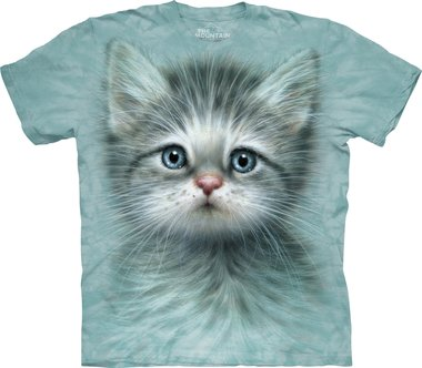 Kitten met Blauwe Ogen - The Mountain T-shirt