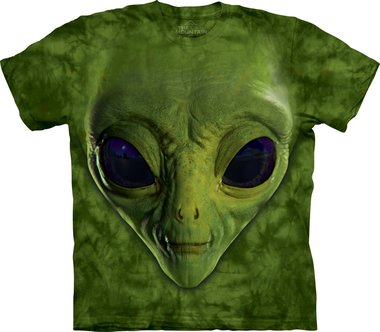 Groene Alien - The Mountain T-shirt