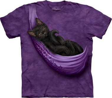 Kitten in Hangkleed - The Mountain T-shirt