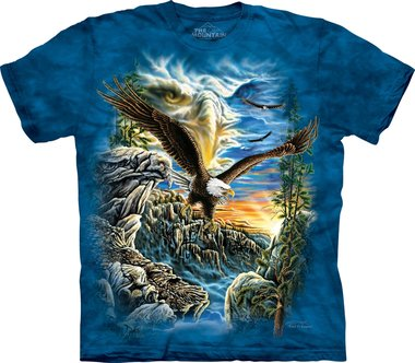 Vind 11 adelaars - The Mountain T-shirt
