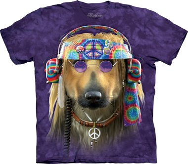 Groovy Dog - The Mountain T-shirt
