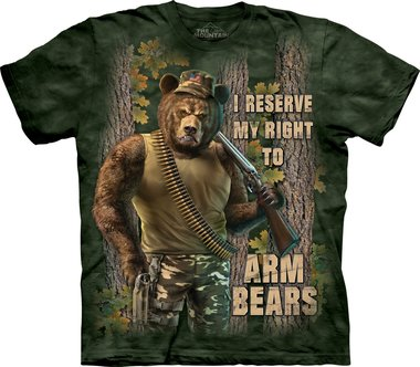 Arm Bears - The Mountain T-shirt