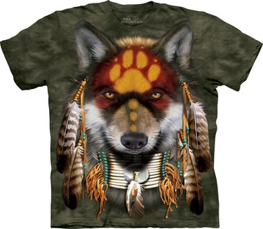 Indianenwolf - The Mountain T-shirt