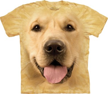 Golden Retriever - The Mountain T-shirt