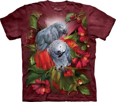 Grijze Papegaaien - The Mountain T-shirt