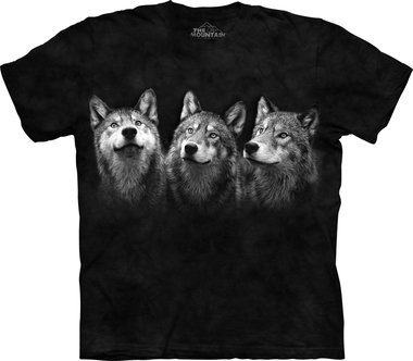 Drie Wolven - The Mountain T-shirt