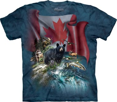 Canadese Beer - The Mountain T-shirt