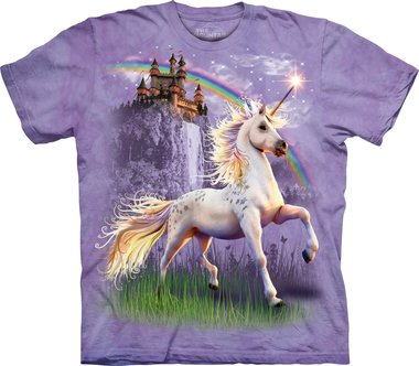 Unicorn Castle - The Mountain T-shirt Kids