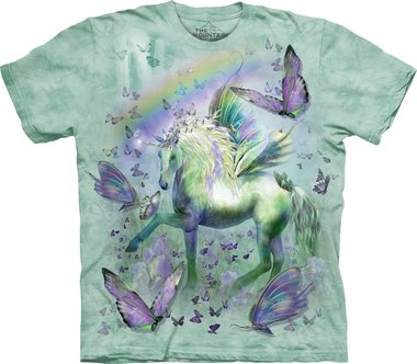 Unicorn and Butterflies - The Mountain T-shirt Kids