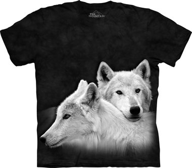 Witte Wolven - The Mountain T-shirt Kids