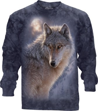 Wolf - The Mountain T-shirt Lange Mouw
